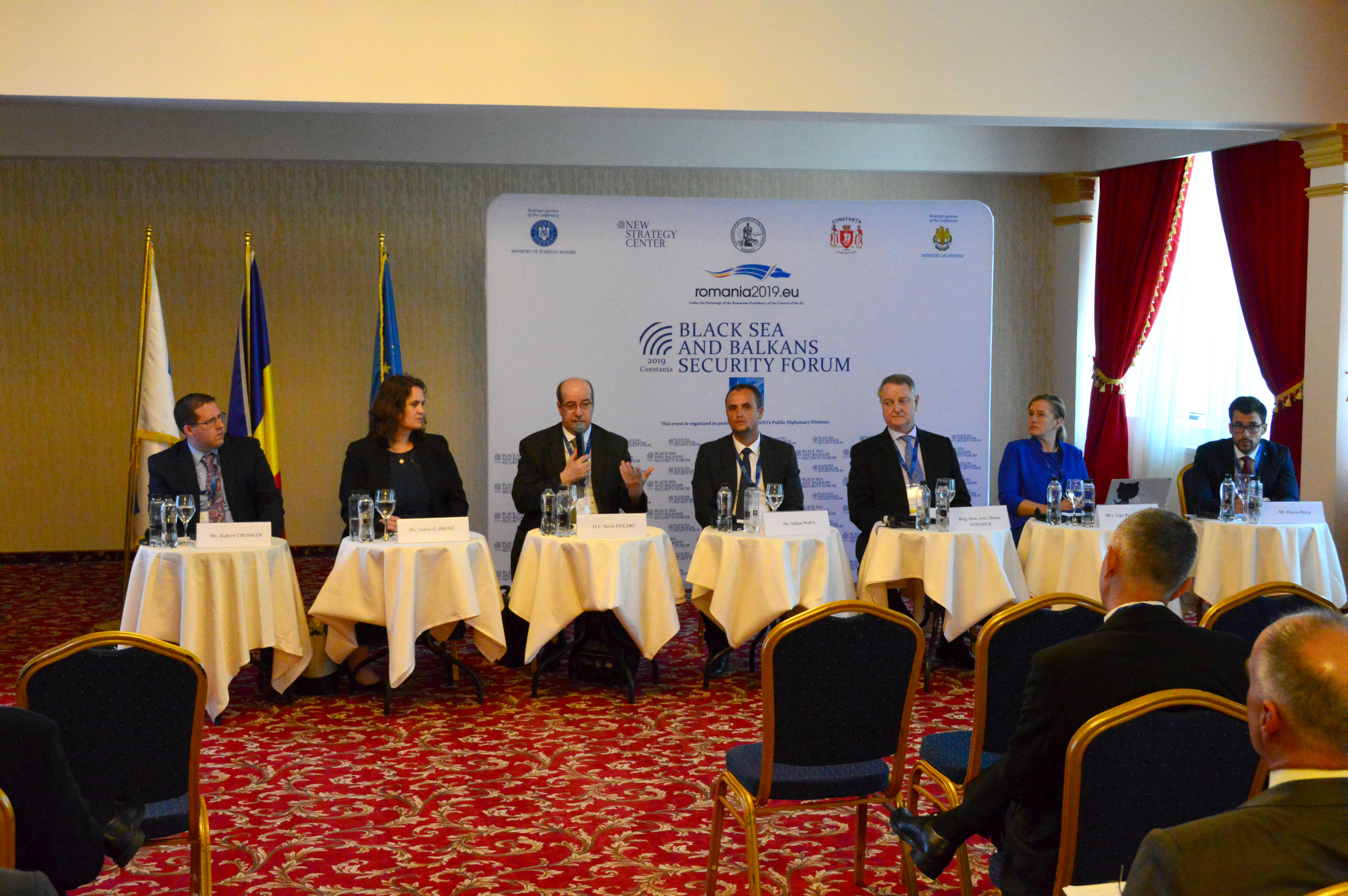 Black Sea and Balkans Security Forum 2019 – day 2 – New Strategy Center